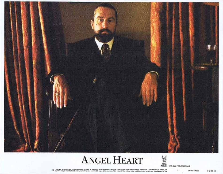 ANGEL HEART Lobby Card 3 Mickey Rourke Robert De Niro Lisa Bonet