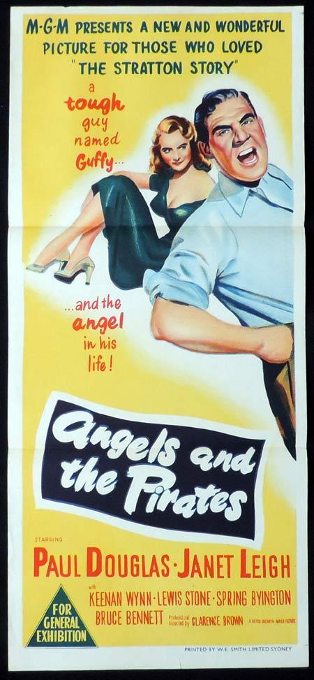 Angels in the Outfield, Clarence Brown, Paul Douglas, Janet Leigh, Keenan Wynn, Donna Corcoran