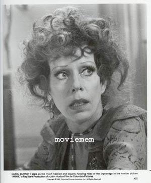 ANNIE '82 Albert Finney-Ann Reinking Carol Burnett-Tim Curry-Rare Movie Still #15