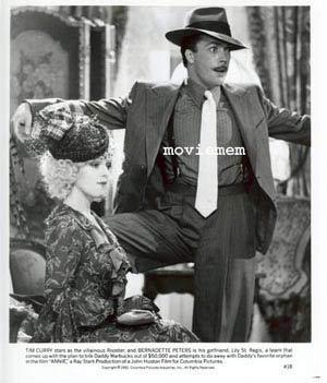 ANNIE '82 Albert Finney-Ann Reinking Carol Burnett-Tim Curry-Rare Movie Still #18