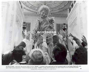 ANNIE '82 Albert Finney-Ann Reinking Carol Burnett-Tim Curry-Rare Movie Still #9