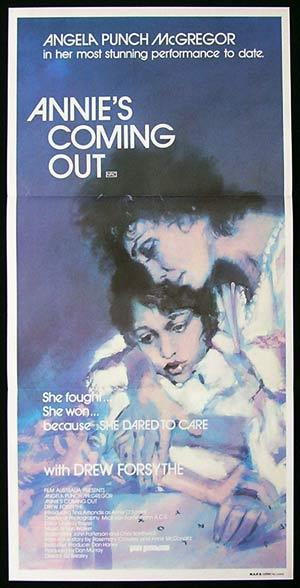 ANNIE'S COMING OUT Daybill Movie Poster 1984 Angela Punch McGregor