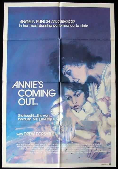 ANNIE'S COMING OUT 1984 Punch McGregor ORIGINAL One Sheet poster