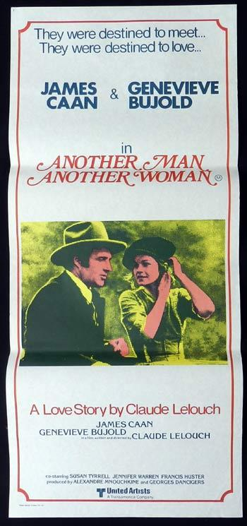 ANOTHER MAN ANOTHER CHANCE Original Daybill Movie poster James Caan Genevieve Bujold