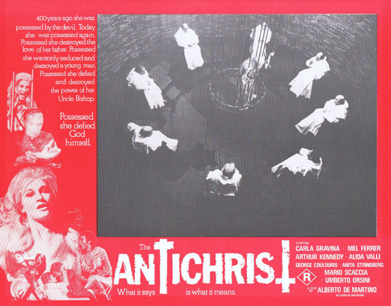 THE ANTICHRIST Lobby Card 4 Mel Ferrer Horror