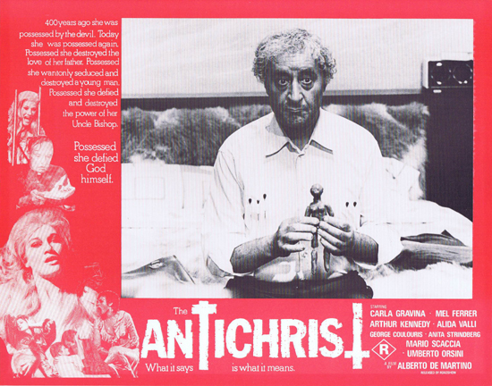 THE ANTICHRIST Lobby Card 5 Mel Ferrer Horror