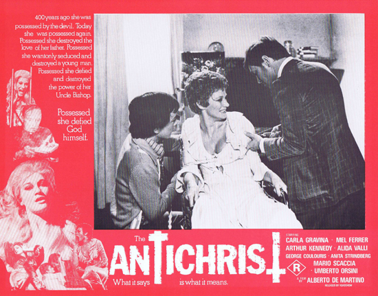 THE ANTICHRIST Lobby Card 6 Mel Ferrer Horror