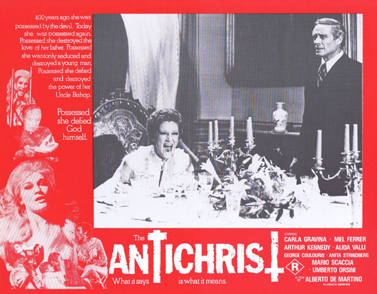 THE ANTICHRIST Lobby Card 7 Mel Ferrer Horror