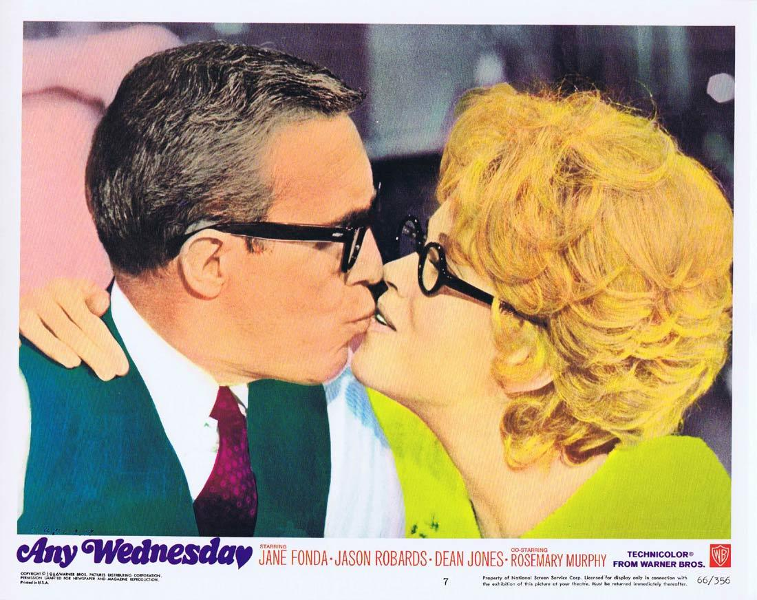 ANY WEDNESDAY Lobby Card 7 Jane Fonda Jason Robards Dean Jones Rosemary Murphy