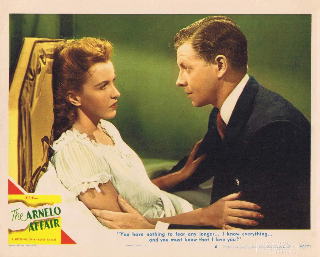 THE ARNELO AFFAIR Lobby Card John Hodiak George Murphy Frances Gifford