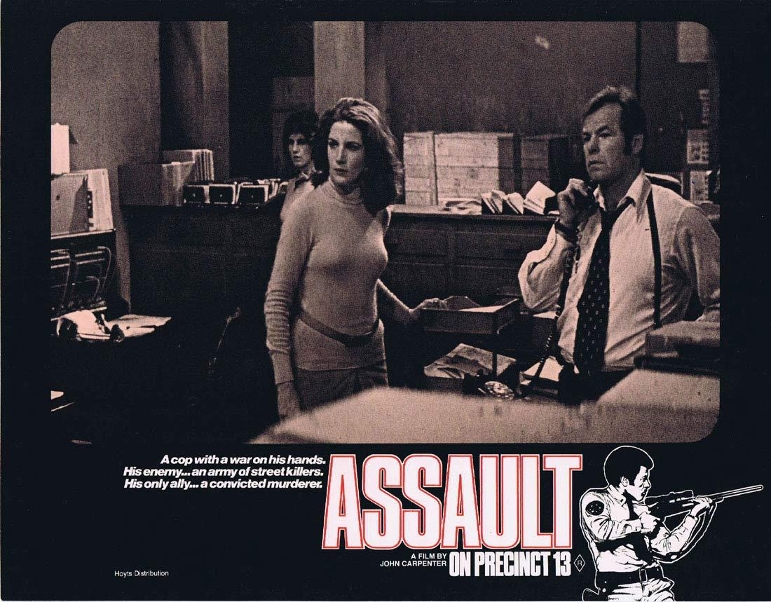ASSAULT ON PRECINCT 13 Original Lobby Card 1 John Carpenter