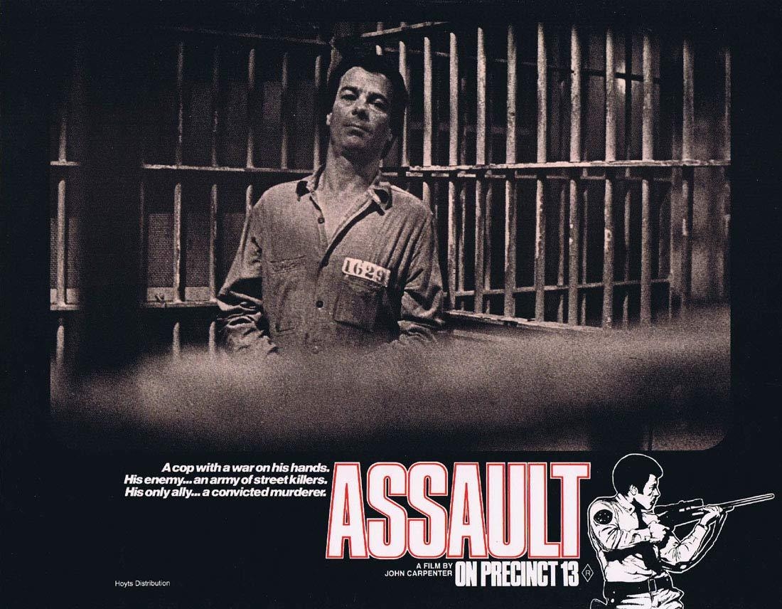 ASSAULT ON PRECINCT 13 Original Lobby Card 2 John Carpenter