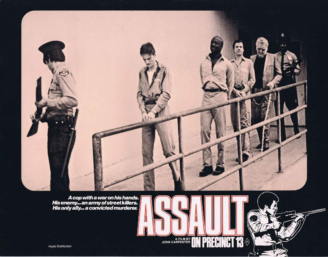 ASSAULT ON PRECINCT 13 Original Lobby Card 4 John Carpenter