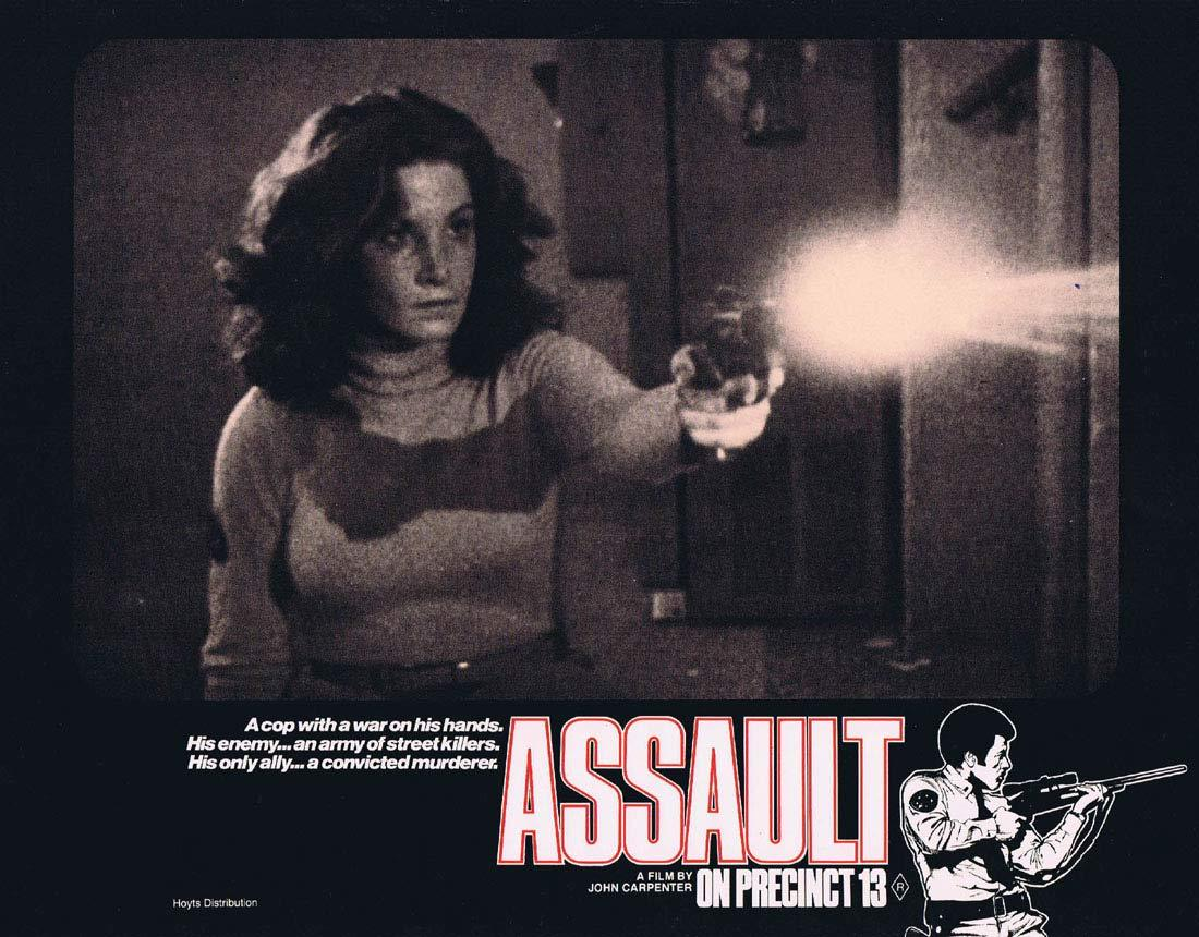 ASSAULT ON PRECINCT 13 Original Lobby Card 6 John Carpenter