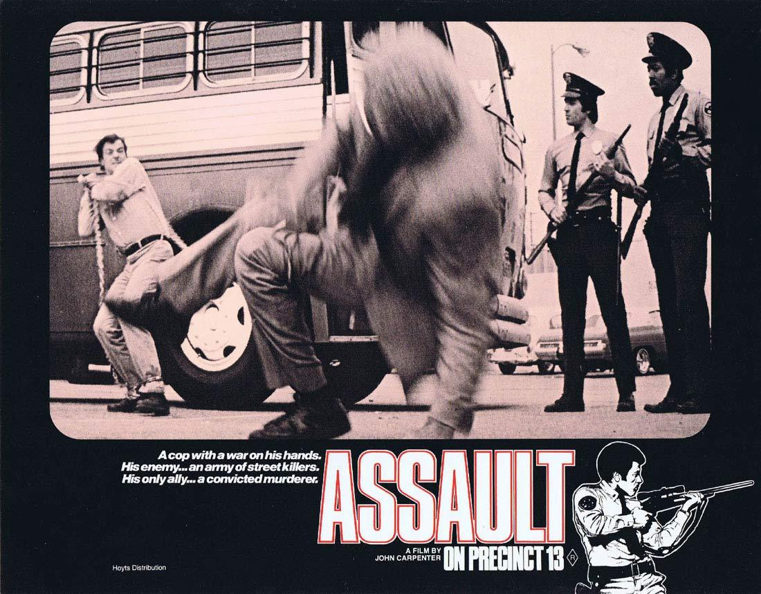 ASSAULT ON PRECINCT 13 Original Lobby Card 7 John Carpenter