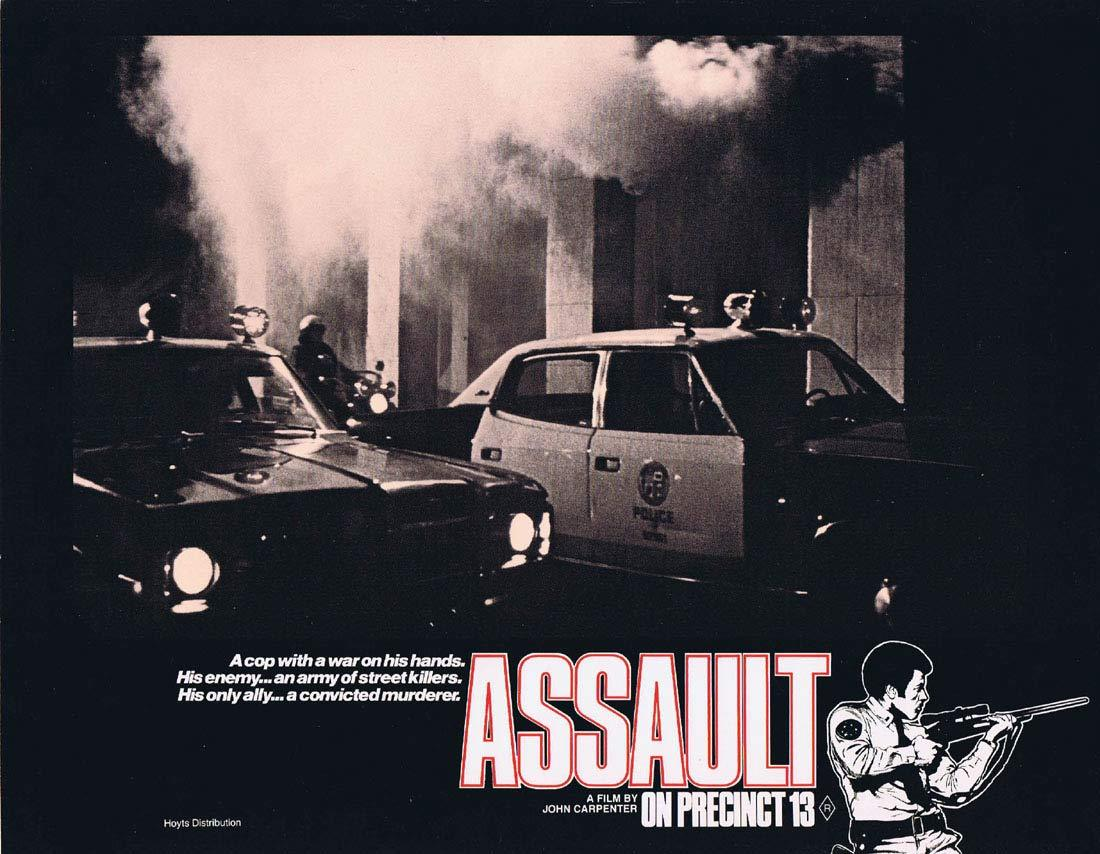 ASSAULT ON PRECINCT 13 Original Lobby Card 8 John Carpenter