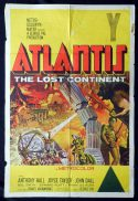 ATLANTIS THE LOST CONTINENT One Sheet Movie Poster George Pal Science Fiction