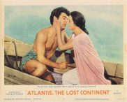 ATLANTIS THE LOST CONTINENT Lobby Card 2 Sal Ponti George Pal