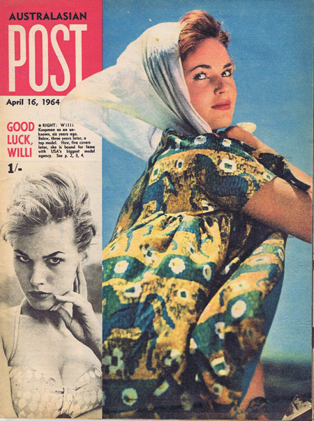 Australasian Post Magazine Apr 16 1964 Queen of the Cover Girls