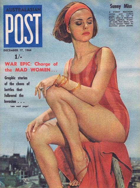 Australasian Post Magazine Dec 17 1964 War epci: Charge of the Mad Women