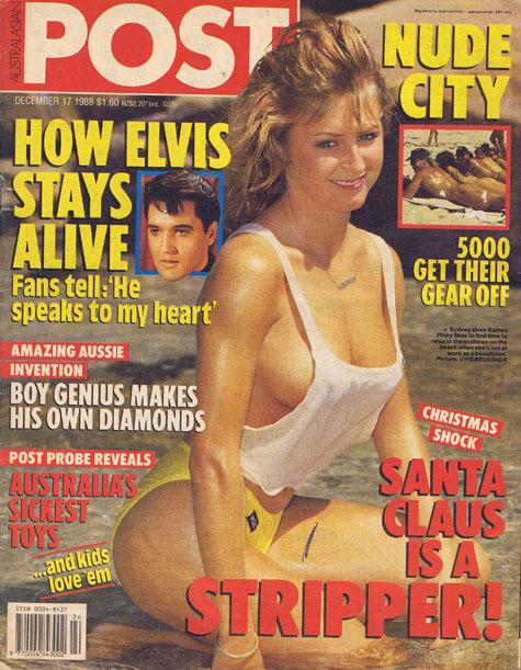 Australasian Post Magazine Dec 17 1988 How Elvis Stays Alive