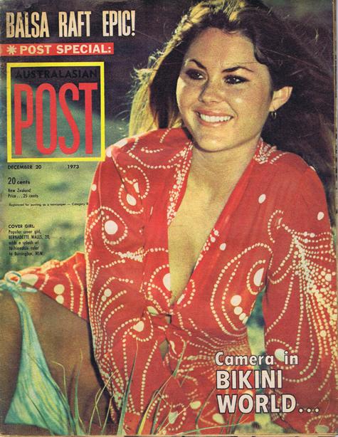 Australasian Post Magazine Dec 20 1973 Camera in Bikini World