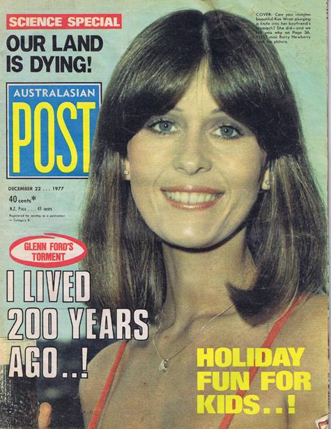 Australasian Post Magazine Dec 22 1977 Glenn Ford's torment