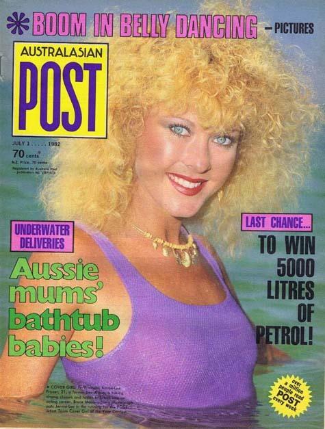 Australasian Post Magazine Jul 1 1982 Boom in Belly Dancing