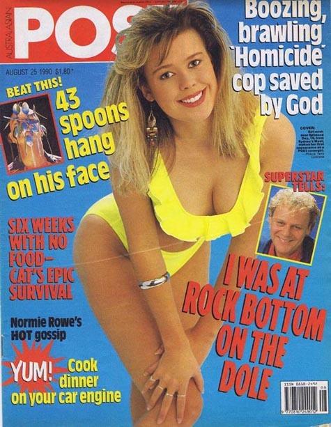 Australasian Post Magazine Aug 25 1990 Mark Mitchell at Rock Bottom