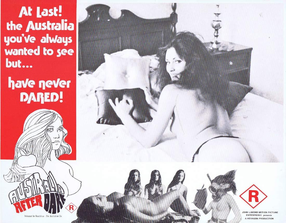 AUSTRALIA AFTER DARK Lobby Card 7 JOHN LAMOND Australian Sexploitation