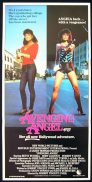 AVENGING ANGEL Daybill Movie poster Betsy Russell