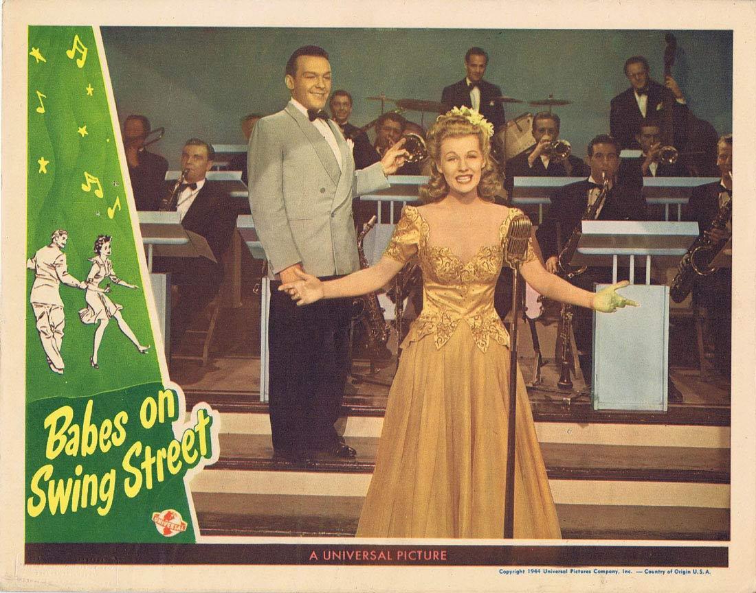 BABES ON SWING STREET Lobby Card 1 1944 Peggy Ryan