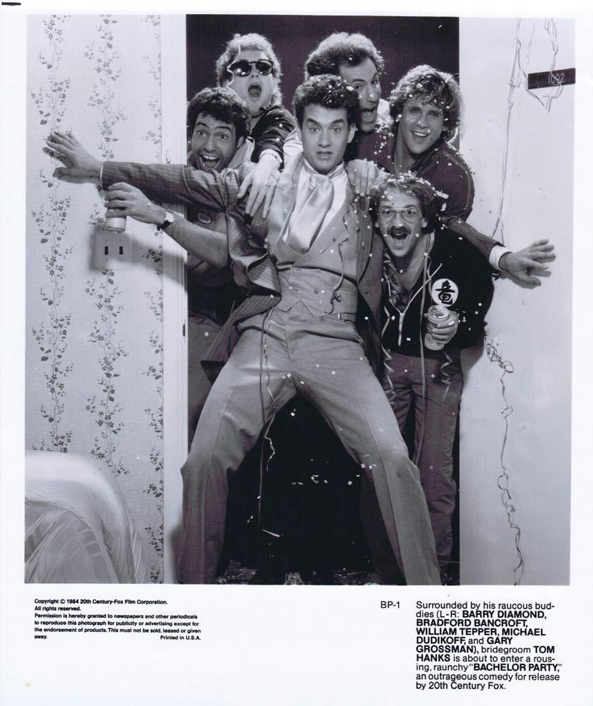 BACHELOR PARTY Original Movie Still Tom Hanks