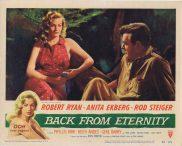 BACK FROM ETERNITY Original Lobby Card Robert Ryan Anita Ekberg Rod Steiger