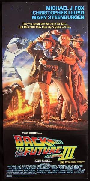 BACK TO THE FUTURE 3 Drew Struzan Daybill Movie poster