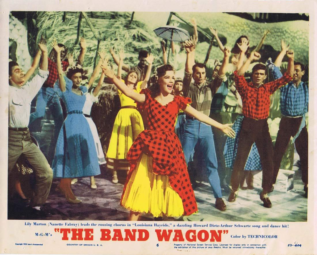 THE BAND WAGON Lobby Card 6 Fred Astaire Cyd Charisse