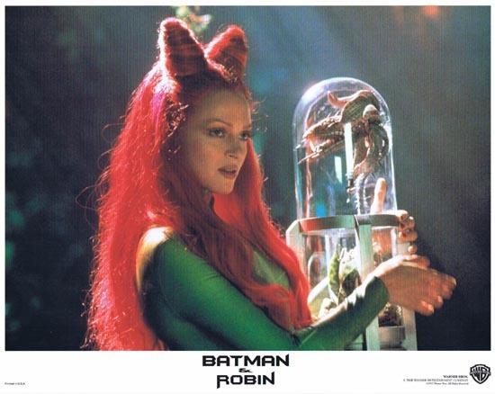 BATMAN AND ROBIN 1997 Lobby Card 3 Arnold Schwarzenegger George Clooney