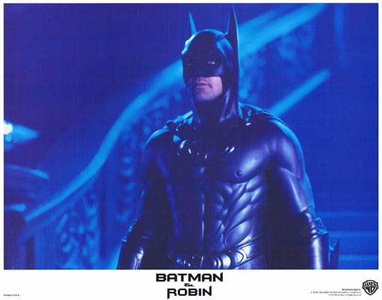 BATMAN AND ROBIN 1997 Lobby Card 8 Arnold Schwarzenegger George Clooney