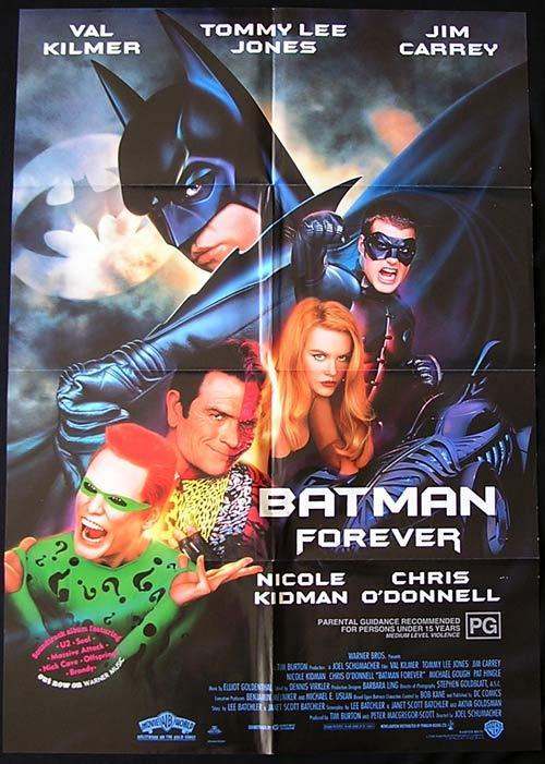 BATMAN FOREVER 1995 Va...