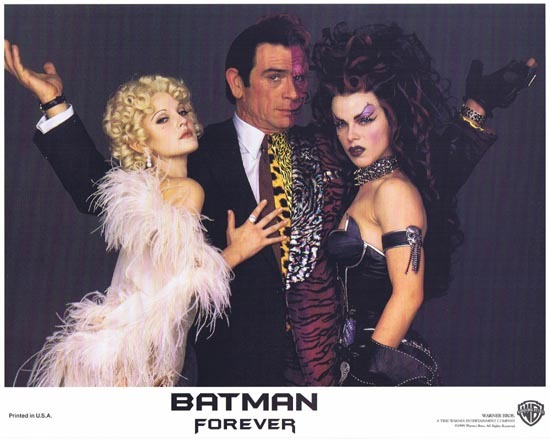 BATMAN FOREVER 1995 Tommy Lee Jones Lobby Card 5