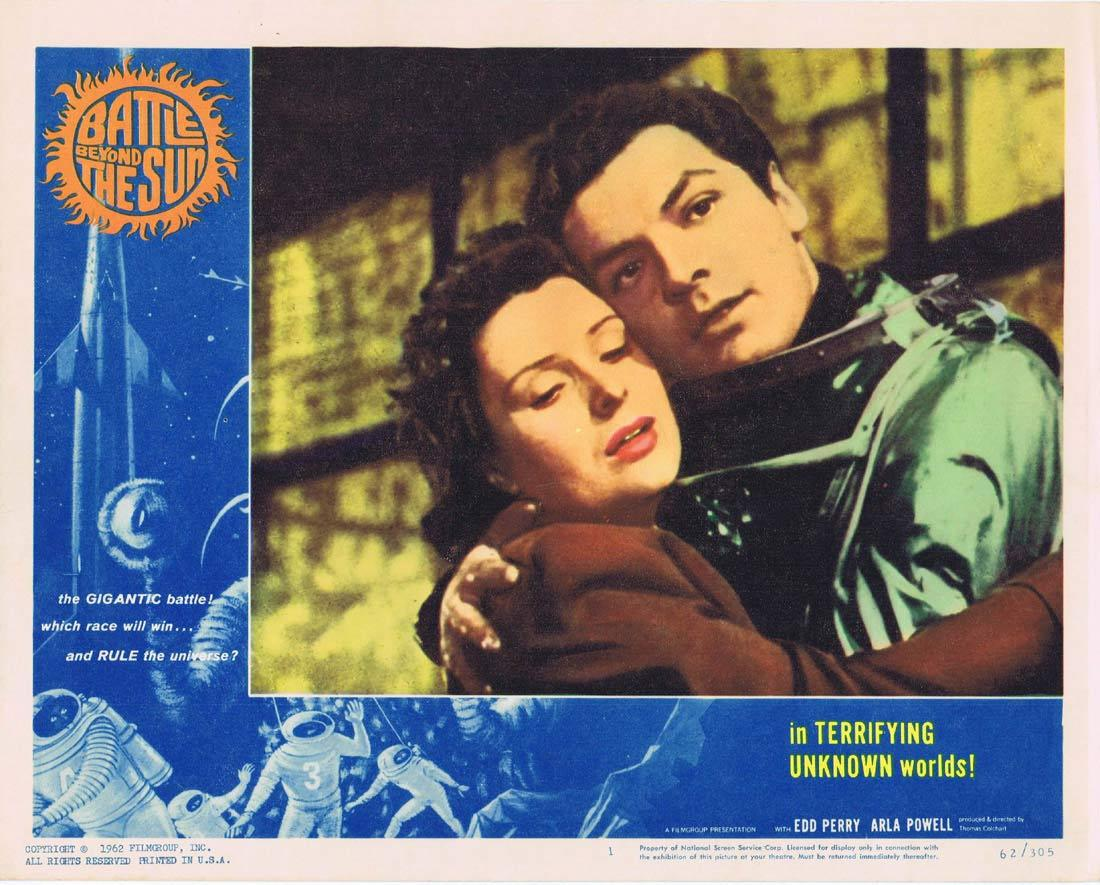 BATTLE BEYOND THE SUN Francis Ford Coppola Lobby card 1