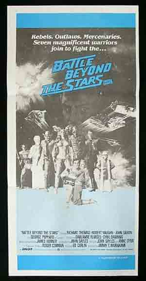 BATTLE BEYOND THE STARS (1980)-Vaughn Rare poster