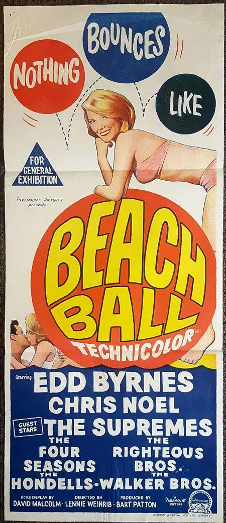 Beach Ball, Lennie Weinrib, Edd Byrnes, The Supremes, The Righteous Brothers