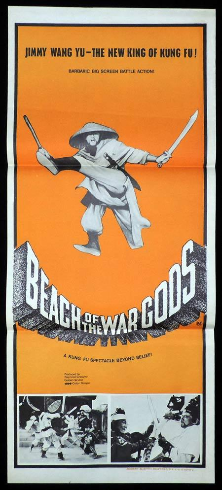 BEACH OF THE WAR GODS Original Daybill Movie Poster Kung Fu Martial Arts