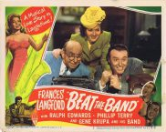BEAT THE BAND Lobby Card 5 Frances Langford Ralph Edwards Phillip Terry