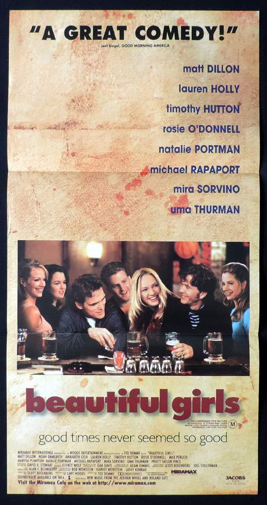 BEAUTIFUL GIRLS Daybill Movie Poster Matt Dillon Annabeth Gish