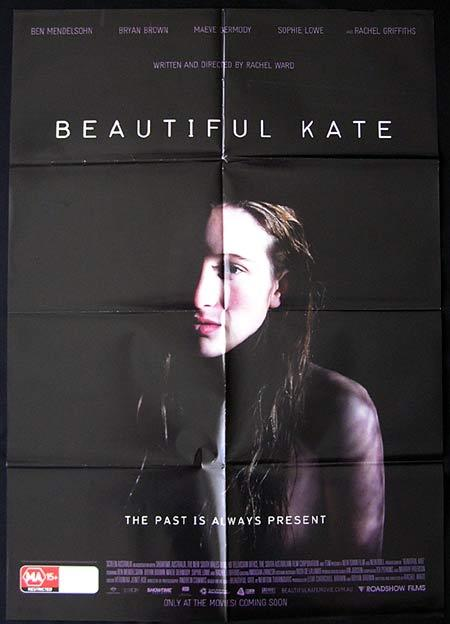 BEAUTIFUL KATE Movie Poster 2009 Rachel Griffiths Australian One sheet