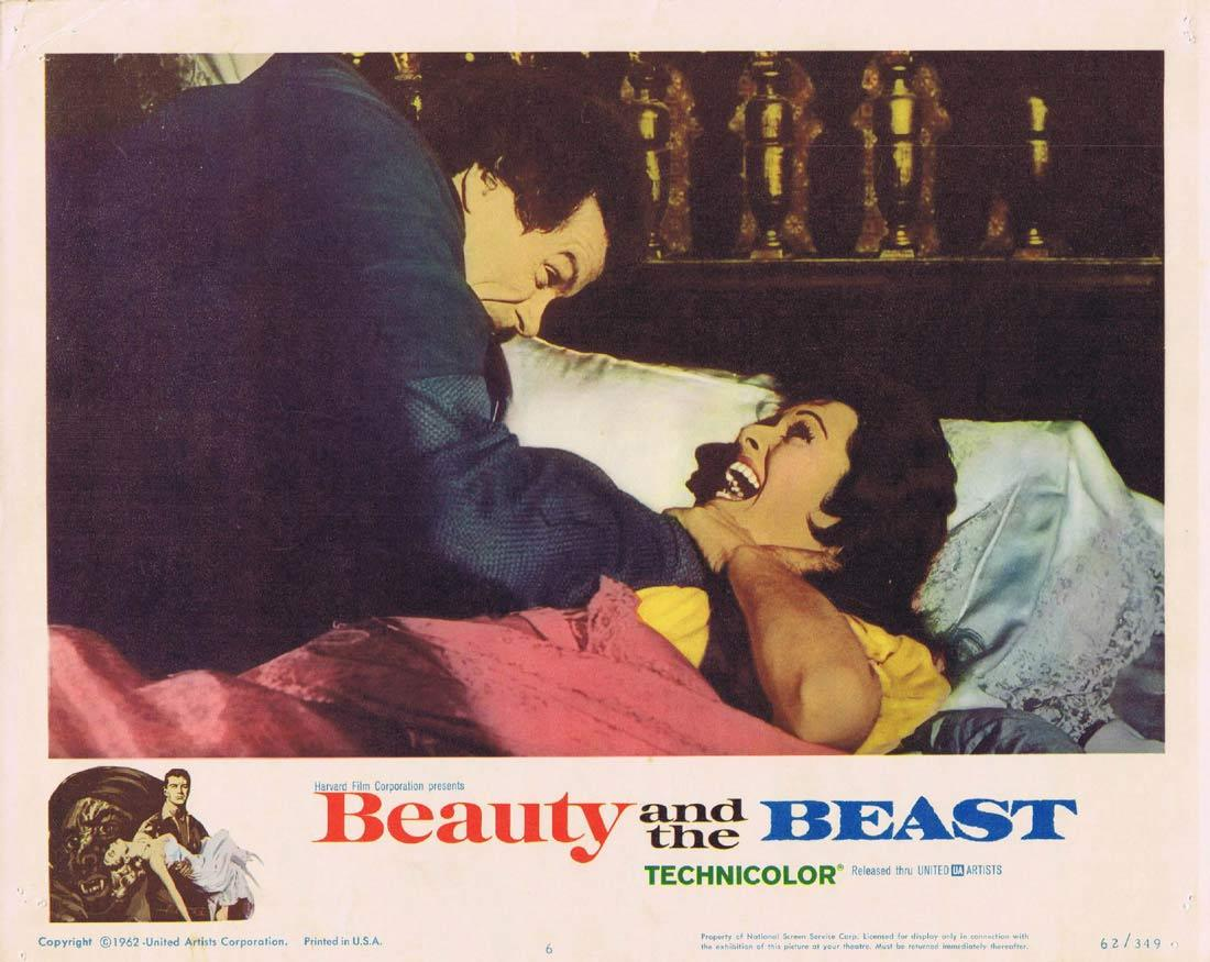 BEAUTY AND THE BEAST Lobby Card 6 Joyce Taylor Mark Damon