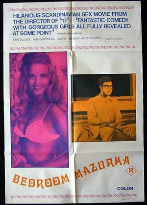 BEDROOM MAZURKA '70-Soltoft -SEXPLOITATION-1sh poster