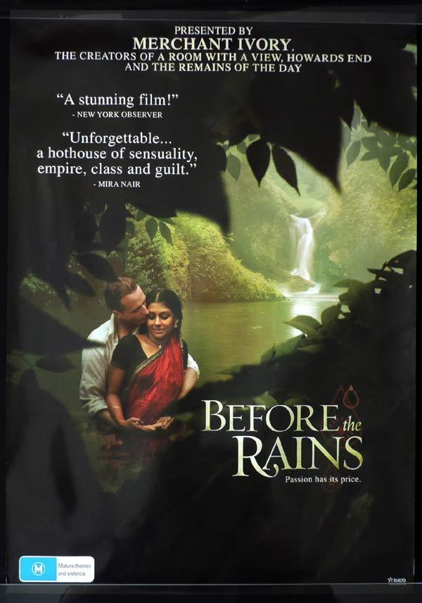 BEFORE THE RAINS One Sheet Movie Poster Nandita Das Indian FIlm